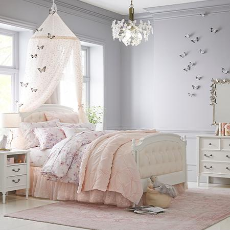 Monique Lhuillier Cherry Blossom Bedroom