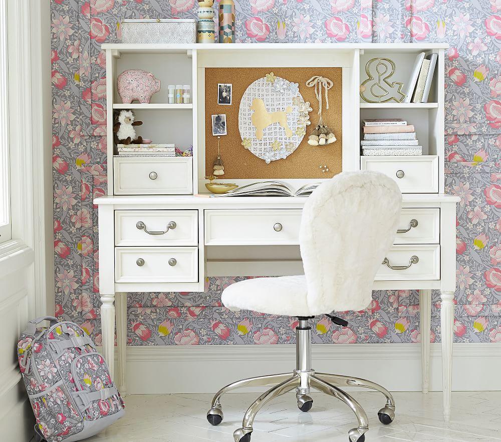 Blythe Desk Amp Low Hutch French White Pottery Barn Kids Uk