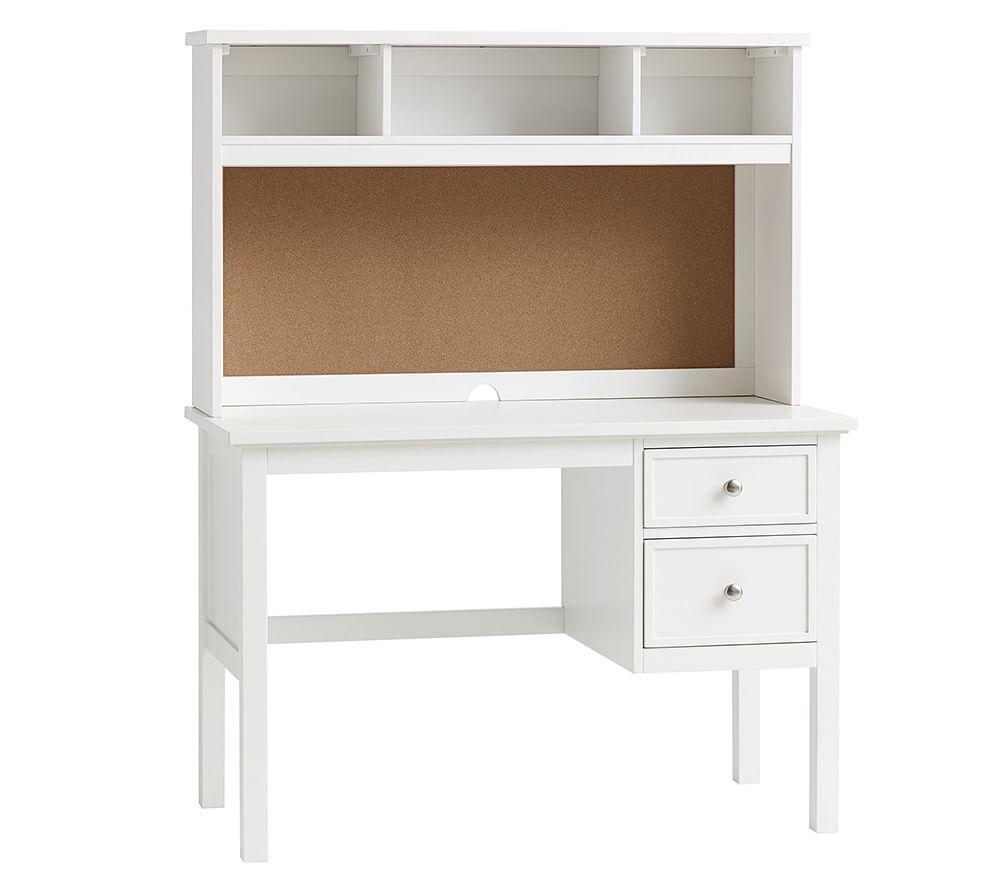 Superb Elliott Desk Hutch Simply White Download Free Architecture Designs Scobabritishbridgeorg