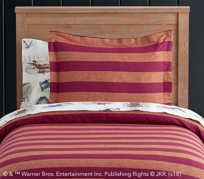 Harry Potter Striped Duvet Cover Pottery Barn Kids Uk
