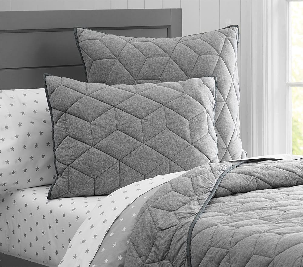 Jersey Quilted Bed Linen Pottery Barn Kids Uk