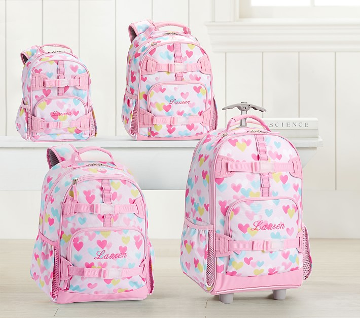 Mackenzie Backpacks Cascading Hearts Pottery Barn Kids Uk